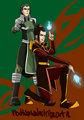 Azula and Kuvira - avatar-the-last-airbender fan art