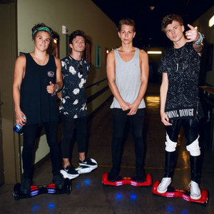 Backstage at The Vamps Final U.S. Tour Stop