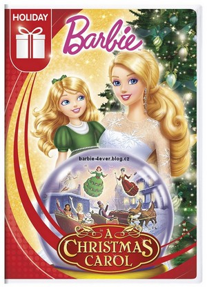 barbie A natal Carol NEW DVD ARTWORK!