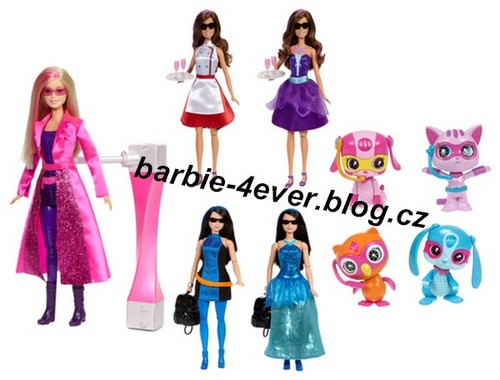 Barbie Movies wallpaper entitled Barbie Spy Squad Dolls & Animals