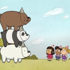 menanggung, bear Stack Party Version we bare bears 38739520 236 236