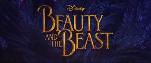 Beauty and the Beast (2017) 壁纸 possibly with a sign called Beauty and the Beast 2017 logo
