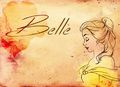 Belle fan art - beauty-and-the-beast wallpaper