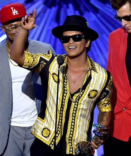 Bruno Mars wallpaper called Best Male Video at the VMAs