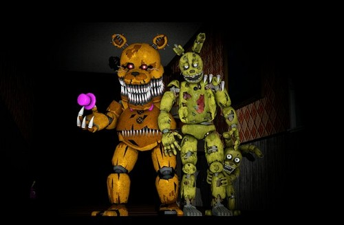 Five Nights at Freddy's wallpaper called Best friends