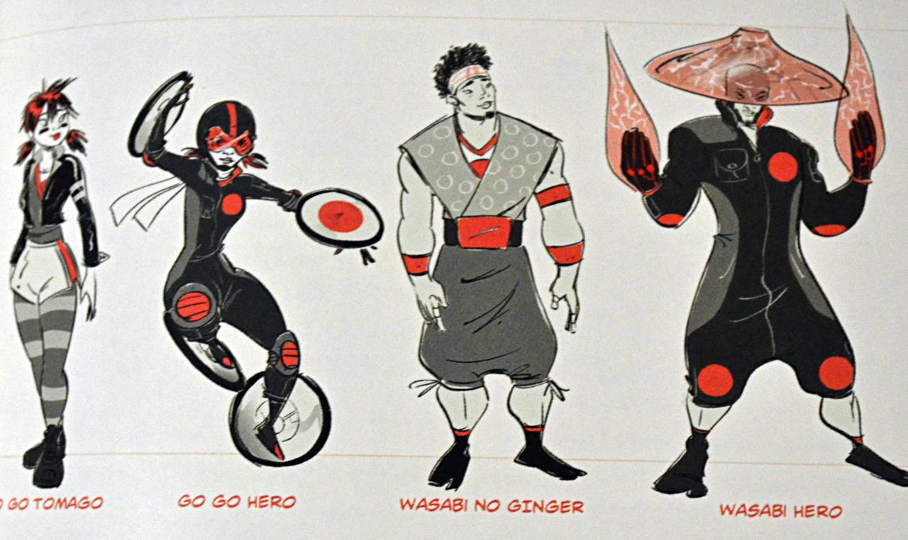 Big Hero 6 Concept Art - 6 Grandes Héroes foto (38883350