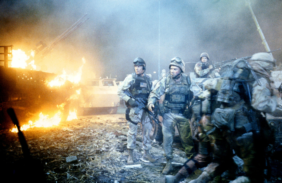 black hawk down Black hawk down movie reviews & metacritic score: director ridley scott's adaptation of the true war story of the attack on a group of us special forces se.