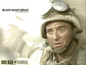 Black Hawk Down wallpaper - Tom Sizemore as COL Danny McKnight