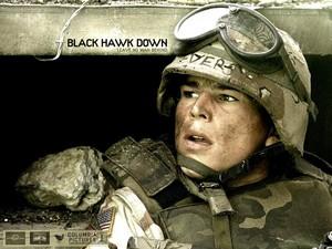 Black Hawk Down kertas dinding