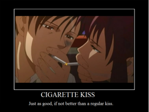 Black Lagoon_Romance_Rock and Revy <3