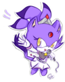 Blaze the cat - blaze-the-cat fan art