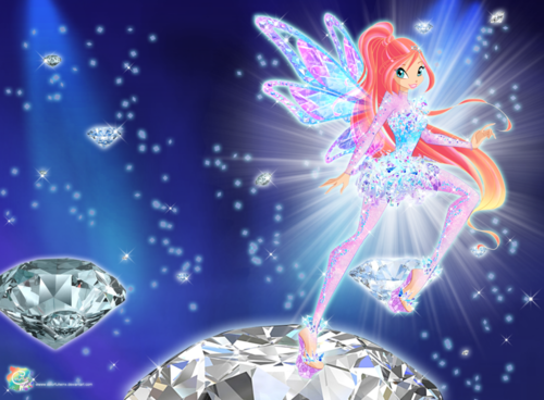Winx Club fond d'écran entitled Bloom Tynix