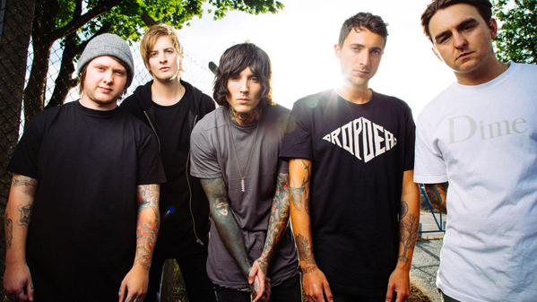 Bring Me The Horizon Upset Magazine Photoshot
