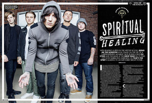 Bring Me The Horizon at Kerrang Magazine