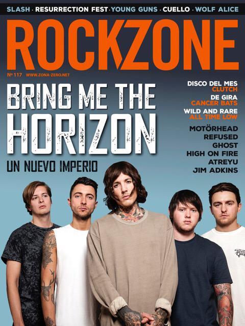 Bring Me The Horizon  cover on Rockzone