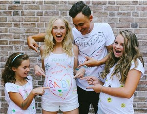 Candice Accola Pregnancy Announcement With Joe King, Ava and Elise