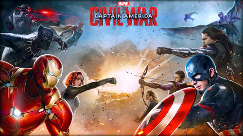 Captain America Civil War Wallpaper Possibly Containing Anime Called