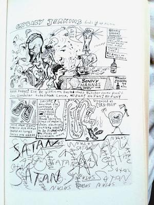 Cartoon Panel por Kurt