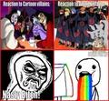 Cartoon Villains vs Anime Villains - anime photo
