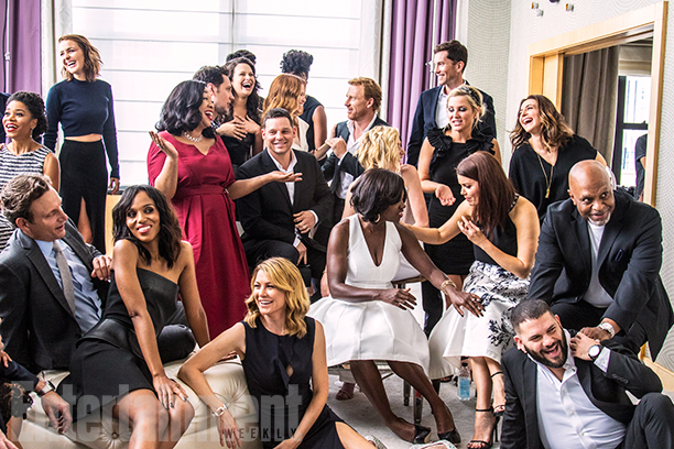 Casts of How To Get Away With Murder, Grey's Anatomy and 스캔들 방탄소년단 of the Shondaland Picture