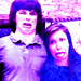 Chandler Riggs & Katelyn Nacon - chandler-riggs icon