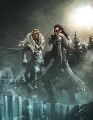 Clarke and Octavia