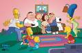 Couch Gag - the-simpsons-vs-family-guy photo