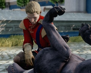 Cullen and his Mabari