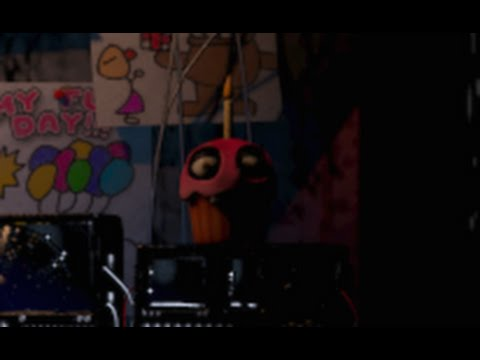 Five Nights at Freddy's achtergrond probably containing a concert called koekje, cupcake yummy