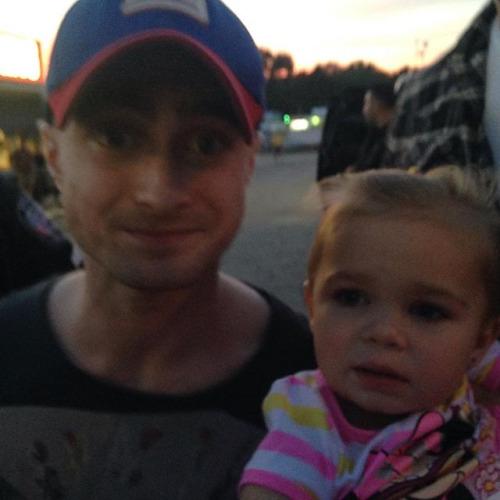 Daniel Radcliffe met fans after shooting IMPERIUM (Fb.com ... Daniel Radcliffe Fan