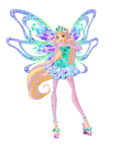 The Winx Club achtergrond called Daphne Tynix