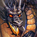 Dark Fire Dragon - fantasy icon