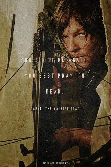 Walking Dead Quotes | The Walking Dead Afbeeldingen Daryl Quote Achtergrond And Background