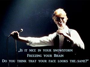David Bowie lyrics