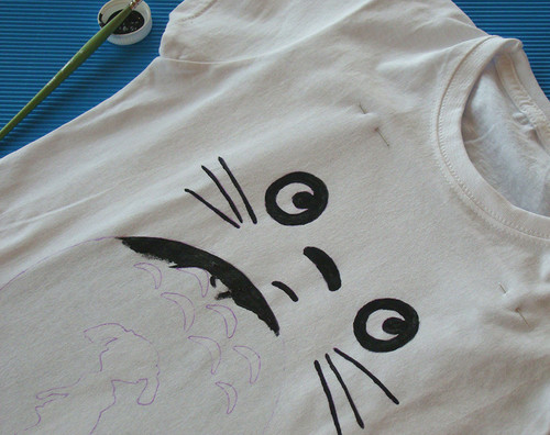My Neighbor Totoro fondo de pantalla with a jersey entitled DiY Totoro T-shirt
