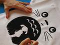 DiY Totoro T-shirt - my-neighbor-totoro fan art