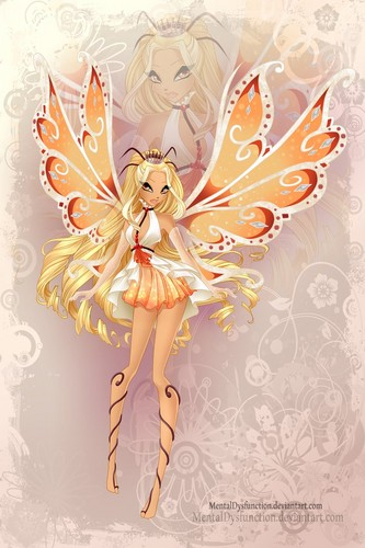 Winx Club fond d'écran probably containing a bouquet titled Diaspro Enchantix