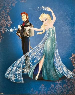 디즈니 Fairytale Designer Collection - 겨울왕국 - Elsa and Hans