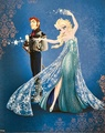 Disney Fairytale Designer Collection - La Reine des Neiges - Elsa and Hans