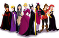 Disney Princess Villains - beauty-and-the-beast fan art