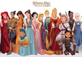 ডিজনি Princesses as GoT Characters