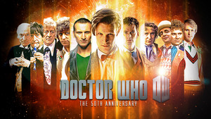 Doctor Who The 50th Anniversary 壁纸 doctor who 35308700