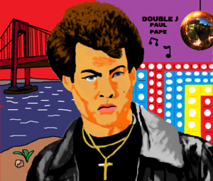 Double J cartoon Saturday Night Fever
