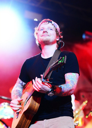 Ed Sheeran Performance