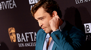Ed Westwick attends the 2015 BAFTA teh Party in Los Angeles (9/19/15) (x)