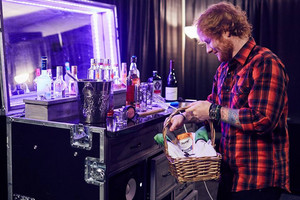Ed backstage in St. Paul