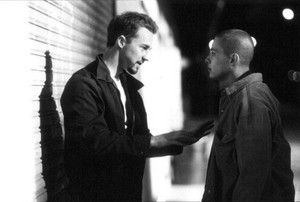 Edward Norton as Derek and Edward Furlong as Danny Vinyard