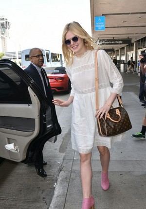 Elle at LAX Airport