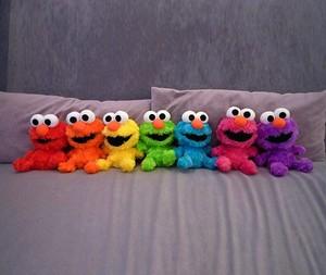 Elmo's 彩虹