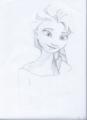 Elsa - elsa-and-anna fan art